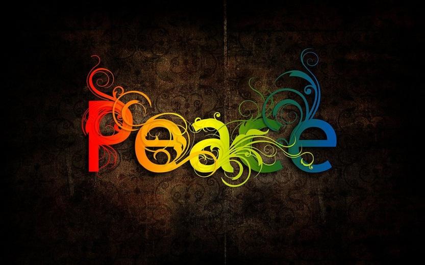 Gratitude, peace