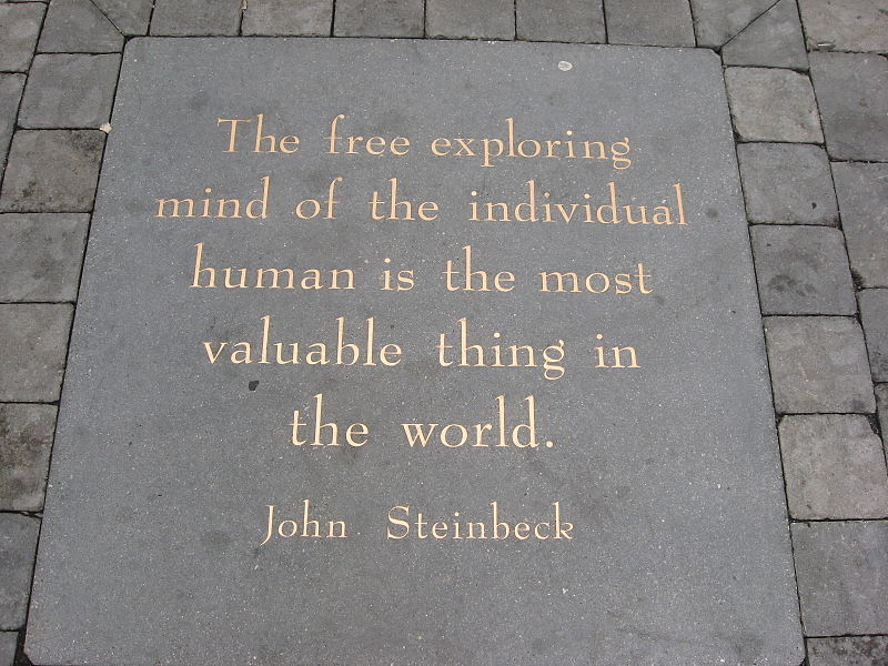 Steinbeck, education